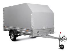 Тент с каркасом аэродинамический для МЗСА 817717.032 (H=155 см)