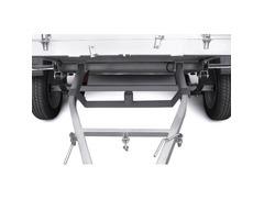 Пластина крепления запасного колеса МЗСА 3105.008 на бортовой прицеп